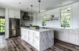beautiful meets practical 5 reasons to include a waterfall countertop in your kitchen design
