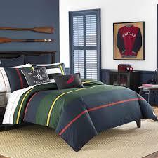 Nautica Heritage Classic Stripe Navy Comforter Set - Free Shipping Today -  Overstock.com - 23011409