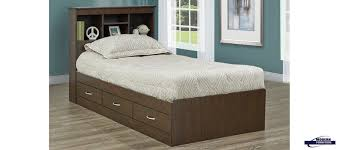twin storage bed. Chocolate-twin-storage-bed Twin Storage Bed