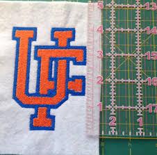 University Logo Embroidery Designs University Of Florida Logo Embroidery Pattern By