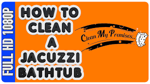 how to clean a jacuzzi bathtub home maintenance and repair diy jetted jacuzzi cleaning