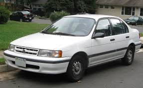 Toyota tercel same as escort ford