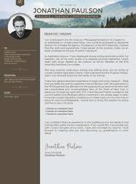 Resume Coverter Free Professional Modern Cv Portfolio Page Vector