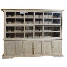 large china cabinet. Exellent Large Large Painted Wood Sliding Glass Door China Cabinet  Display Case With  Storage For Sale Inside R