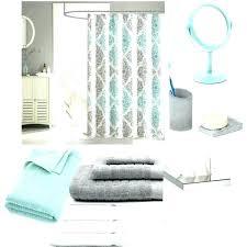 mint green shower curtain chevron bathroom window curtains full size of hooks gray min