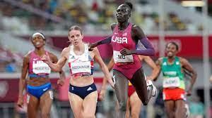 Mu wins gold for US in women's 800 ...