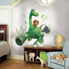 Peel And Stick Wall Decor Roommates 5 In W X 19 In H Arlo The Good Dinosaur Peel And Stick