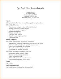 Resume Truck Driver Position Truck Driver Resume Description Samples Taxi Format In Word