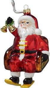 Krebs Glas Lauscha Christbaumschmuck Weihnachtsmann Im Sessellift Mundgeblasen Online Kaufen Otto