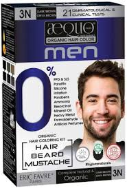 Aequo Color Chart Aequo Organic Men 3n Dark Brown Hair Colour 170ml Derma