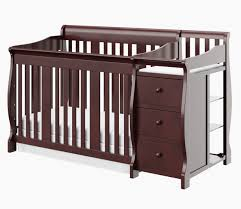 storkcraft portofino in convertible crib and changer set black changing table storkcraft cherry babiesrus porto