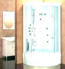 kohler shower units one piece tub