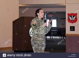 Lt. Col. Sheila Coker, Fort McCoy deputy garrison commander ...