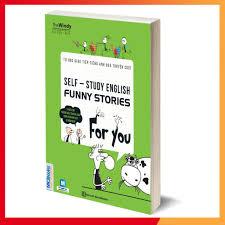 Sách - Tự Học Giao Tiếp Tiếng Anh Qua Truyện Cười +tặng đèn đọc sách giảm  chỉ còn 98,000 đ