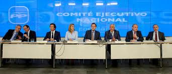 Resultat d'imatges de comite ejecutivo PP