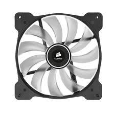 fan quiet. corsair af140 quiet fan - white : image 2