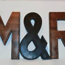 large letters for wall big metal unique letter decor extra idea 19
