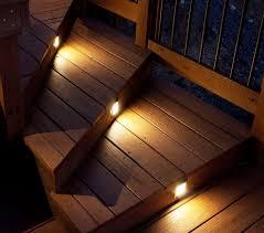install outdoor stair lighting
