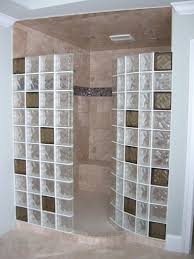 colored glass blocks for showers
