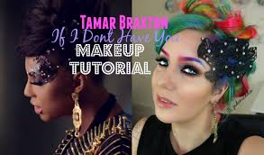 tamar braxton if i dont have you video inspired makeup collab with dynamua jade madden