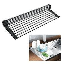 dish drying mat sink rack roll up dish drying over the sink dish drainer racks drying dish drying mat