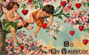 vintage valentine desktop background. Simple Vintage To My Valentine  Red Bloom Valentine Branch Card Green Flag This  Wallpaper  Intended Vintage Desktop Background T
