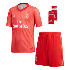 Adidas Real Madrid 3rd Kit 18 19 Junior