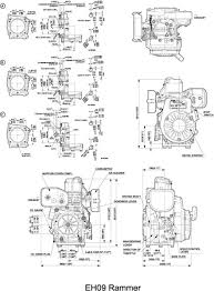 eh09 ohv engine technical information subaru subaru engines dimensional diagram