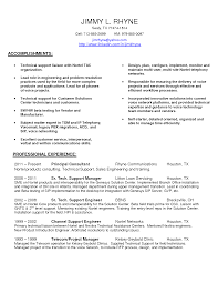 Customer Service Engineer Sample Resume Customer Service Engineer Sample Resume 24 It Support 4