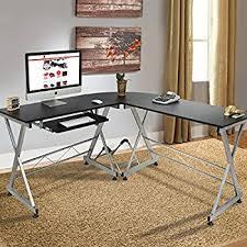 home office computer desk. best choice products wood lshape corner computer desk pc laptop table workstation home office