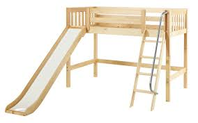 bunk bed with slide.  With And Bunk Bed With Slide