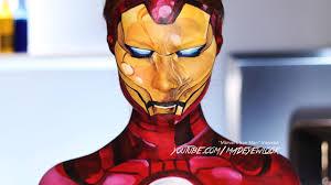 ic iron man makeup tutorial marvel
