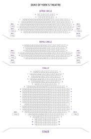 Duke Of Yorks Theatre Seating Plan Boxoffice Co Uk
