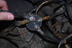 starting the engine the mini moke forum theres a picture of the current solenoid wiring it wired like that i can press the button on top and start the car