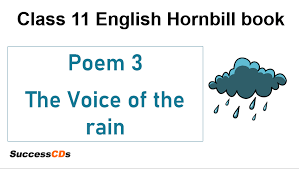 the voice of the rain cl 11 english