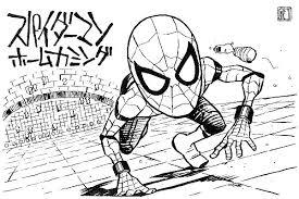 スパイダーマンホームカミング感想とイラスト 親愛なる隣人への道