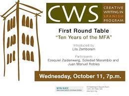 cws first round table ten years of the mfa