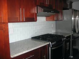 subway tile backsplash with cherry cabinets. Wonderful With Backsplash With Cherry Cabinets White Subway Tile Kitchen Dark Inside A