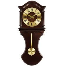 office large size floor clocks wayfair. Bedford Clock Collection Chocolate Wood Wall With Pendulum And Chimes Office Large Size Floor Clocks Wayfair N