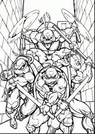 Tmnt Coloring Pages Refrence Teenage Mutant Ninja Turtles Colouring