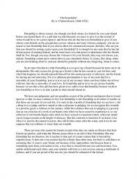 about friends write a short essay on friendship world s largest