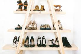 Just The Right Shoe Display Stand DIY Update The Ladder Shoe Shelf A Pair A Spare 85