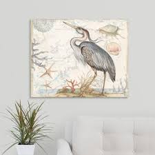 greatbigcanvas heron by susan winget canvas wall art 2490724 24 30x24 the home depot
