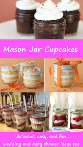 Decorative Mason Jars For Sale Mason Jar Cupcakes Easy DIY Cupcakes And Cake In A Jar Recipes 50