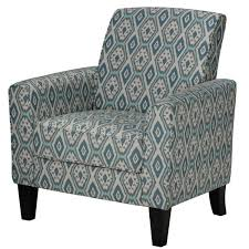 appealing teal blue accent chair with cortesi home tali blue diamond arm accent chair free