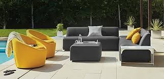 trendy outdoor furniture. view in gallery striking modern outdoor seating trendy furniture o