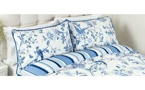 summer palace royal blue duvet cover