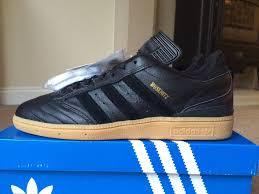 adidas 004001. mens shoes - adidas busenitz black leather dead stock 80s football casuals bnib rare size 8 004001