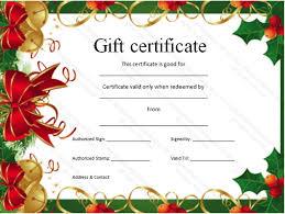 free printable christmas gift certificate templates free printable santa certificates barca fontanacountryinn com