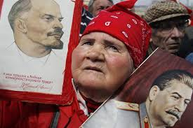 lenin and stalin majority of russians fond of lenin and regret soviet collapse